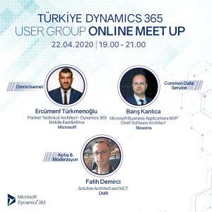 Türkiye Dynamics 365 User Group Online Meetup